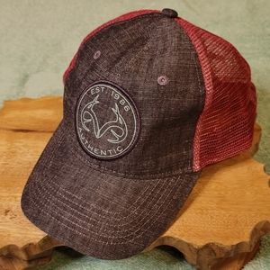 RealTree Denim and mesh Ladies Hat